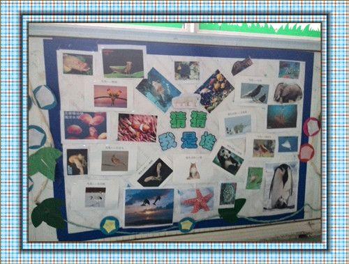 """四月份主题""""可爱的动物"""" - 中共安徽省委机关幼儿园"""